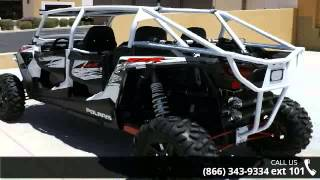 4. 2014 Polaris RZR XP 4 1000 EPS White Lightning  - RideNow...