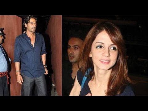 Did Arjun Rampal Fly Back To Mumbai For Sussanne Khan's Birthday?