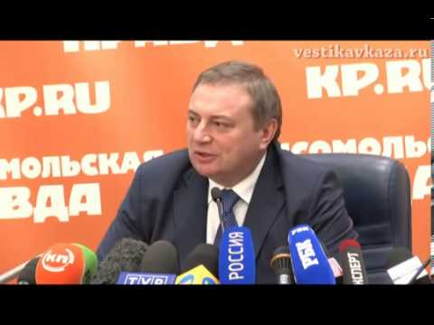 Mayor of Sochi on the preparations for the 2014 Olympics