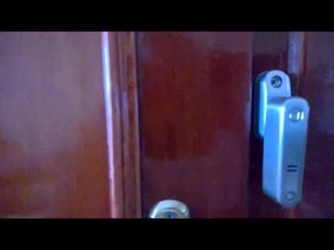 Alarmlı Güvenlik Kilidi, Çelik Kapı Uygulaması