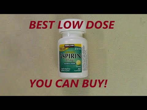 Kirkland Low Dose Aspirin 81mg. 365 Enteric Coated Tablets