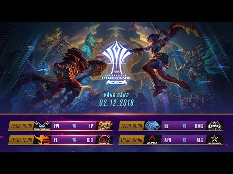 Vòng Bảng AIC 2018 - Ngày 3 - Thời lượng: 6:29:37.