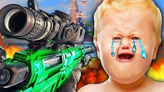 Video 1V1 TROLLING ANGRIEST TRY HARD WHO RAGE QUITS! (Black Ops 3 Trolling) MP3, 3GP, MP4, WEBM, AVI, FLV Mei 2019