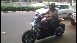 7. 2013 Ducati Diavel with Project SC Slipon Rolling || 4K