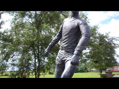 Jim Baxter Statue Hill Of Beath Fife Scotland