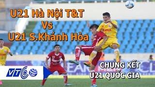 Khanh Hoa Vietnam  city pictures gallery : U21 Hà Nội T&T Vs U21 Sanna Khánh Hòa | VTC