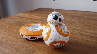 UNBOXING Y REVIEW BB-8 SPHERO Y TIMELAPSE LEGO TIE FIGHTER! - Bycraftxx
