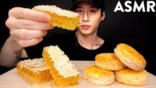 ASMR RAW HONEYCOMB MUKBANG (UNBOXING & EATING + CRUSHING SOUNDS) No Talking   Zach Choi ASMR