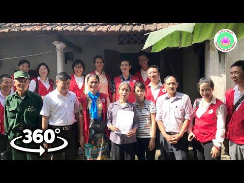 """Video 360°: Khảo sát xây 16 Nhà Chữ thập đỏ ở Ba Vì, thành phố Hà Nội - """"Sức mạnh nhân đạo"""""""