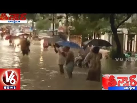 Heavy Rains In Tamil Nadu Claims Five Lives | Teenmaar News