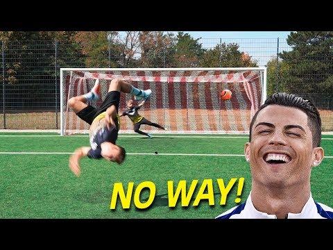 CRAZY FOOTBALL CHALLENGES vs Subscriber - Thời lượng: 10 phút.