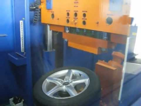 Тест дисков реплика WSP Italy W561 Kassel на удар обода (Ауди)