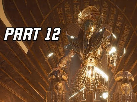 Assassin's Creed Origins Curse of the Pharaohs Walkthrough Part 12 - Ramesses
