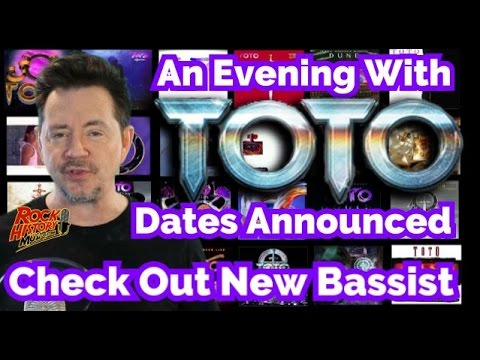 Toto Announce Dates for
