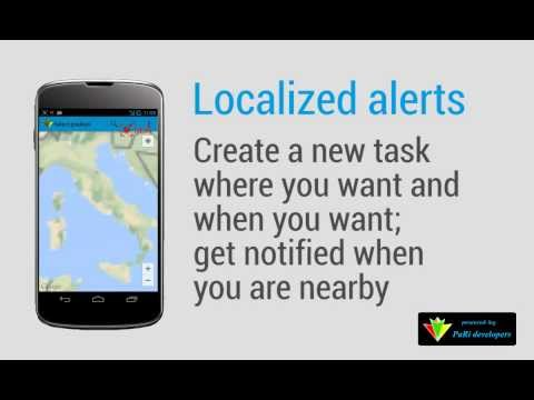 Video of GeoTask - Location-Based Tasks