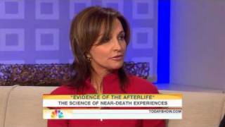 "Recent: Today Show interview with a woman who had a near death experience. Book: ""Evidence of the Afterlife"" by Jeffrey Long ..."