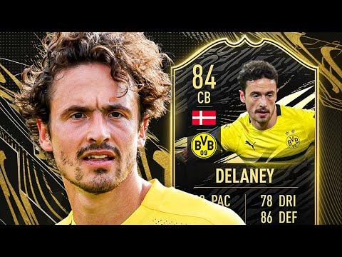 BUNDESLIGA DEFENCE! 🔥 84 INFORM DELANEY PLAYER REVIEW! - FIFA 21 Ultimate Team
