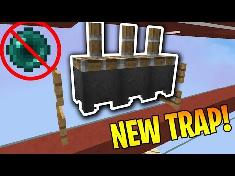 Living On A Line (2) - *NEW* ANTI-PEARL TRAP | Minecraft HCF
