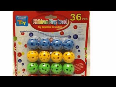 Video YouTube post on the Build And Play Children Paly Beads