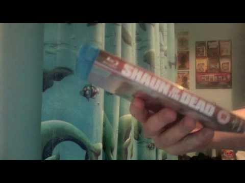 Shaun Of The Dead Blu Ray Unboxing
