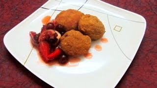 Fried Ice cream Recipe in Tamil