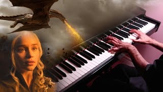 """Follow me on Twitter: https://twitter.com/HariSivanMusicThis is my piano cover / arrangement of Blood of My Blood from Game of Thrones. This theme is closely associated with Daenerys Targaryen and her dragons. Game of Thrones is an adaptation of """"A Song of Ice and Fire"""", a series of fantasy novels by George R. R. Martin, and its OST was composed by Ramin Djawadi. Please show your support by subscribing.My other Game of Thrones covers:Blood of My Blood - Piano (Synthesia)★ https://youtu.be/npmyVRVA3kMFinale (Daenerys Targaryen Theme) - Piano (Synthesia)★ https://youtu.be/ODV7FXlXanMWinterfell - Piano (Synthesia)★ https://youtu.be/q5hUBSdW_XEWinterfell - Piano★ https://youtu.be/-cDpPhATwpQFinale (Daenerys Targaryen Theme) - Piano★ https://youtu.be/GwXD-pYGsX8Arranged and Performed by Hari SivanRecorded: August 12th 2017"""