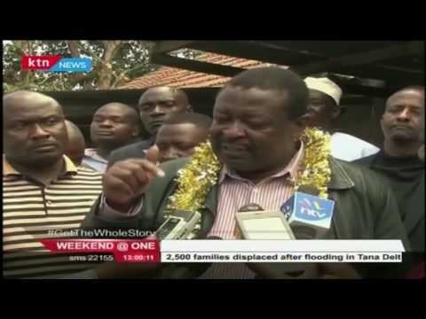 Musali Mudavadi has faulted CORD for planing to hold a seperate rally for the Madaraka day