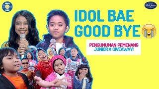 Video PESAN TERAKHIR JUNIOR + PENGUMUMAN GIVEAWAY! | IDOL BAE (Backstage Anything Else) MP3, 3GP, MP4, WEBM, AVI, FLV April 2019