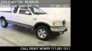 2002 Ford F150  - for sale in Chambersburg, PA 17202
