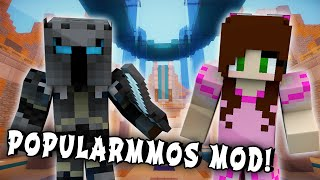 Minecraft Mods - POPULARMMOS MOD (With Jen, Tree Of Epic Proportions, & Popularmmos Mob Arena!)