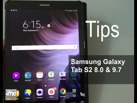 Samsung Galaxy Tab S2 8.0 & 9.7 Tips and Tricks
