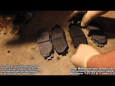 "Front Brake Pads & Rotors Remove & Replace ""How to"" 09-14 Toyota Corolla"