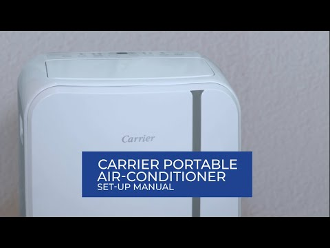 Carrier Portable Aircon Set Up Guide