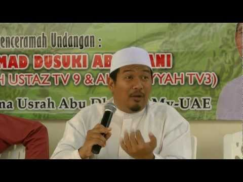 Ustaz Ahmad Dusuki – Ceramah Sempena Maulud Nabi