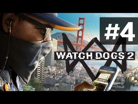 Прохождение Watch Dogs 2 на русском - часть 4 - Гонки без водилы