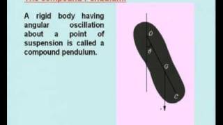 Mod-15 Lec-38  Vibration Of Rigid Bodies Part-1