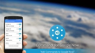 Commandr for Google Now YouTube video