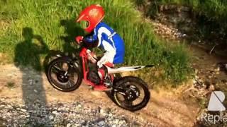 3. mini moto trial Electric bike hm beta