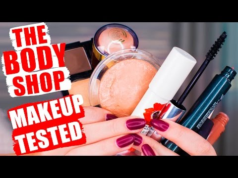 THE BODY SHOP MAKEUP   Tested