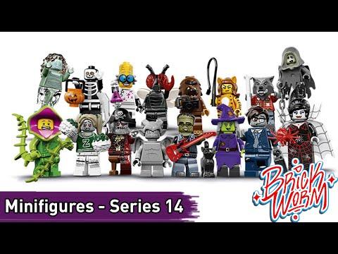 LEGO Minifigures: Series 14 - Brickworm