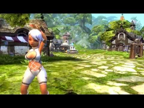 Dragon Nest - Kali Gestures Close Up!