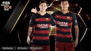 Messi and Neymar nominated for FIFA Ballon d'Or 2015, neymar, neymar Barcelona,  Barcelona, chung ket cup c1, Barcelona juventus