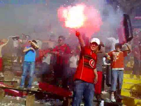 SALIDA RANGERS VS UNIVERSIDAD DE CHILE - Los Rojinegros - Rangers de Talca