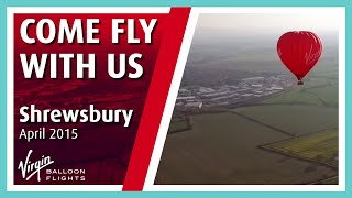 Hot Air Balloon Rides - Virgin Balloon Flights Shrewsbury
