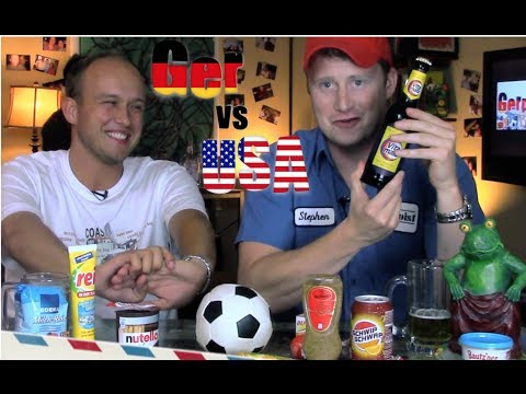 germany - German products Jim likes to bring back from Germany. What do you bring back from Germany? Awesome American Products - Germany vs USA http://www.youtube.com/...