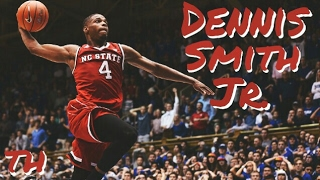 Dennis Smith Jr. has been drafted #9 overall by the Dallas Mavericks.Dennis Smith Jr has no ceiling. This guy can flat out hoop. Whether he's flying through the air or pull up from deep, you can gurantee Smith will be on all the highlights the next day. However is his skill alone enough for him to become the next big thing?Music by the one and only NF. He's a killer and was perfect for this mix. Song: NF- RealSpecial thanks to the Hoops Column and ReBorn Highlights for some of the clips.I do not own the footage or music in this video. All rights go to their respective owners.Thanks for watching! Please don't forget to drop a like, leave feedback in the comments section below, and SUBSCRIBE.Also don't forget to turn on post notifications so you don't miss any new content.God bless.