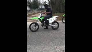 7. Kx85 and Kx100 race!(who you going for comment)