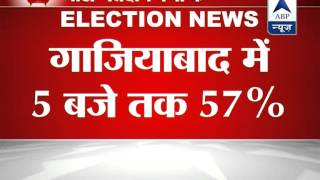 57 per cent voting in Ghaziabad till 5 PM