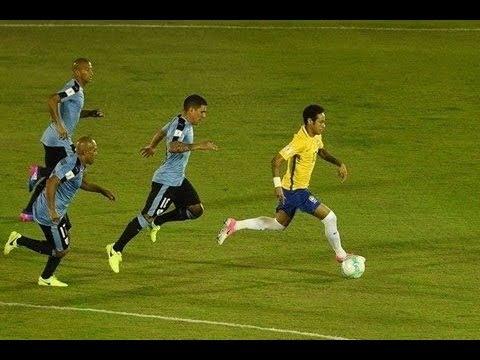 Uruguay Vs Brazil (1-4) All Goals & Highlights |HD| 2018 World Cup Qualification (CONMEBOL)
