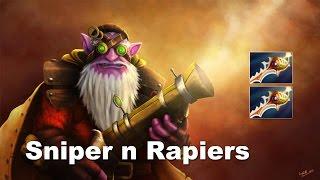 Dota 2: Sniper 2 Divine bán hành cho cả đội hình Secret